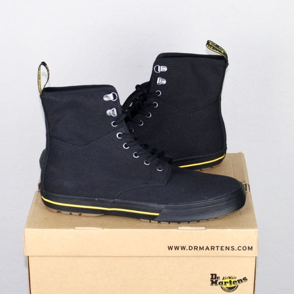 e022057b Dr. Martens Shoes | New Dr Martens Winsted Black Canvas Boot 13 ...